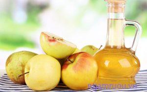 Giảm cân bằng uống giấm táo