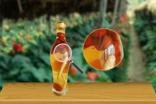 Rượu táo đỏ và sâm Hàn Quốc Siêu Bổ Cho Quý Ô