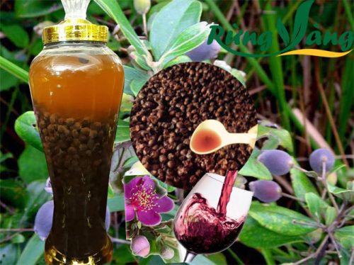 cách ngâm rượu sim với mật ong