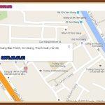 Bản đồ cửa hàng Rừng Vàng