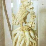 Đinh lăng điêu khắc gà tài lộc
