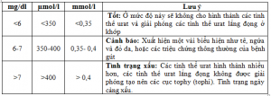 Chỉ số axit uric