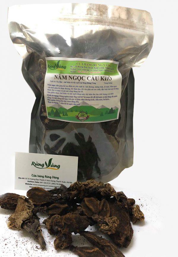 nấm ngọc cẩu khô chất lượng cao