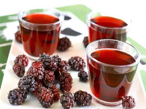 nước uống quả dâu tằm không chỉ giải khát mà còn tốt cho sức khỏe