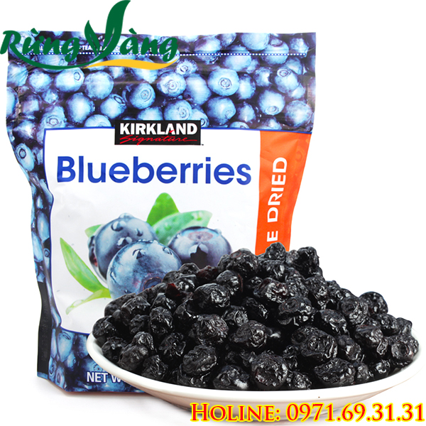Blueberry Kirkland gói 567g