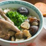 Cách làm món bồ câu hầm hạt sen táo đỏ