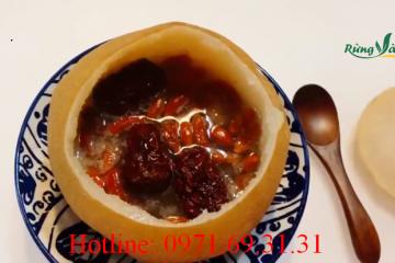 Cách làm món lê hấp hạt sen táo đỏ bồi bổ cơ thể