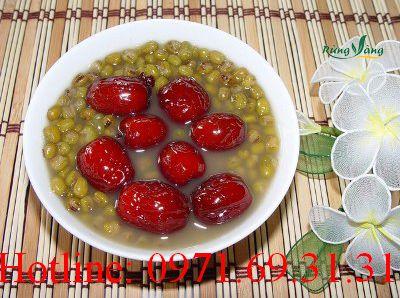 Cách nấu chè táo đỏ đậu xanh ngon không cưỡng nổi | Món Miền Trung