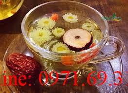 Cách pha trà táo đỏ kỷ tử hoa cúc
