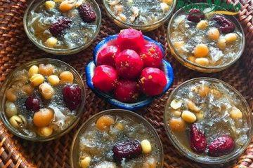 Chè hạt sen táo đỏ kỷ tử – món giải nhiệt tuyệt vời cho mùa hè nóng nực